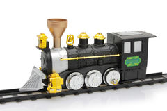 Toy steam train Stock Images