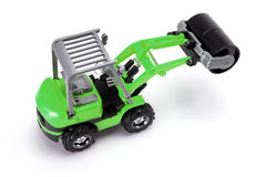 Toy Steamroller Royalty Free Stock Images