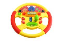 Toy steering wheel Stock Photos