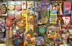 Toy Store Arkivfoto