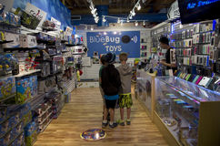 Toy store Royalty Free Stock Photography