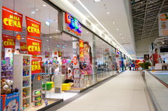 Toy stores Royalty Free Stock Photography