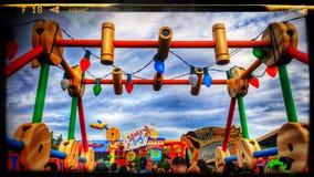 Toy Story Land en los estudios del ` s Hollywood de Disney Fotos de archivo
