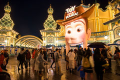 Toy Story Mania area in Disney sea Stock Images