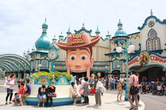 Toy Story Mania a Tokyo DisneySea Fotografia Stock