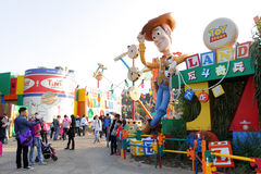 Hong Kong Disneyland obraz stock