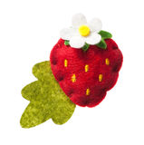 Toy strawberry Royalty Free Stock Photography