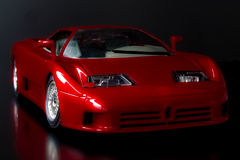 Toy supercar Stock Images