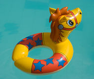 The toy for swimming. On water Stock Photo