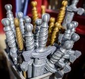 Toy Swords Foto de Stock