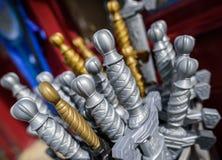Toy Swords Fotografia de Stock Royalty Free