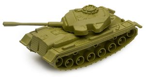 Toy Tank Stock Photo