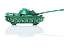 Toy Tank Fotografia de Stock