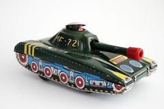 Toy Tank Isolated Stock Photos