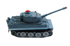 Toy Tank Isolated Photographie stock libre de droits