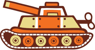 Toy Tank Military Fotos de archivo