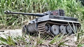 Toy, Tank, Miniature, War Royalty Free Stock Photo