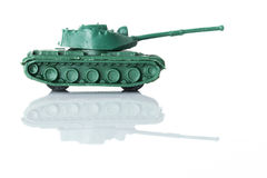 Toy tank three. Photo shows the toy tank Royalty Free Stock Images