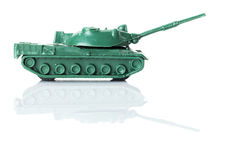 Toy tank two Royalty Free Stock Image