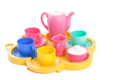 Toy tea china Stock Image