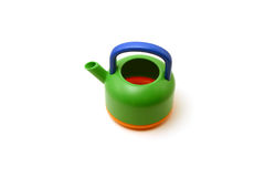 Toy Tea Pot. Isolated Toy Pot Royalty Free Stock Photography