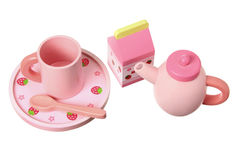 Toy Tea Set Stock Images