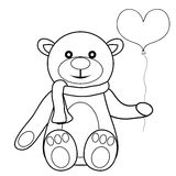 Toy teddy bear Stock Images