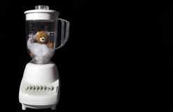 Toy Teddy Bear in Blender Royalty Free Stock Images