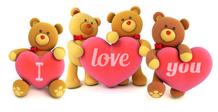 Toy teddy bear Royalty Free Stock Images