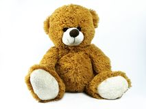 Toy teddy bear stock image