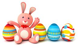 Toy teddy bunny Royalty Free Stock Photo