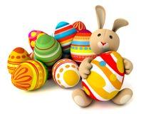 Toy teddy bunny Stock Image