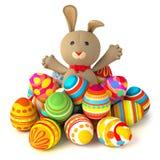 Toy teddy bunny Royalty Free Stock Photos