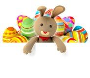 Toy teddy bunny Stock Photography