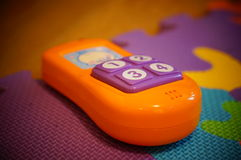 Toy telephone Stock Image