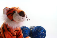 Toy tiger Royalty Free Stock Photos