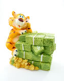 Toy tiger Royalty Free Stock Photography