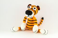 Toy Tiger Fotografia Stock