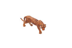 Toy tiger. Royalty Free Stock Image
