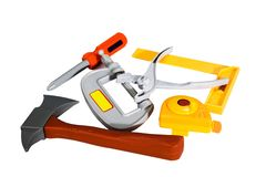 Toy Tool Plastic Stock Photo