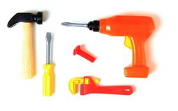 Toy tools Royalty Free Stock Photos