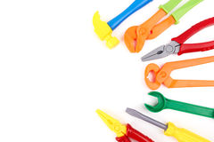 Toy Tools Royalty Free Stock Image