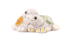 Toy tortoises Royalty Free Stock Images