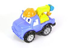 Toy tow truck Royalty Free Stock Photo
