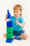 Toy tower Royalty Free Stock Photo