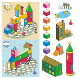 Toy town Royalty Free Stock Photo