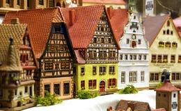 Toy town Royalty Free Stock Photo