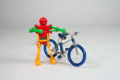 Toy. S, young children, the shows, the various components Stock Image