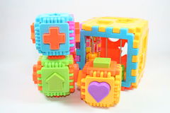 Toy. S, young children, the shows, the various components Stock Photo