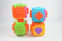 Toy. S, young children, the shows, the various components Royalty Free Stock Images